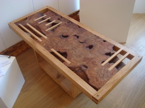 Very beautiful table made by Merlin