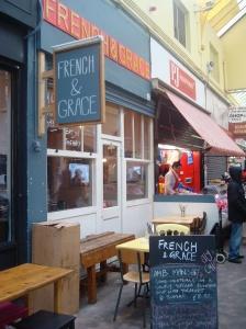 Brixton Market Food Villag Elsiting