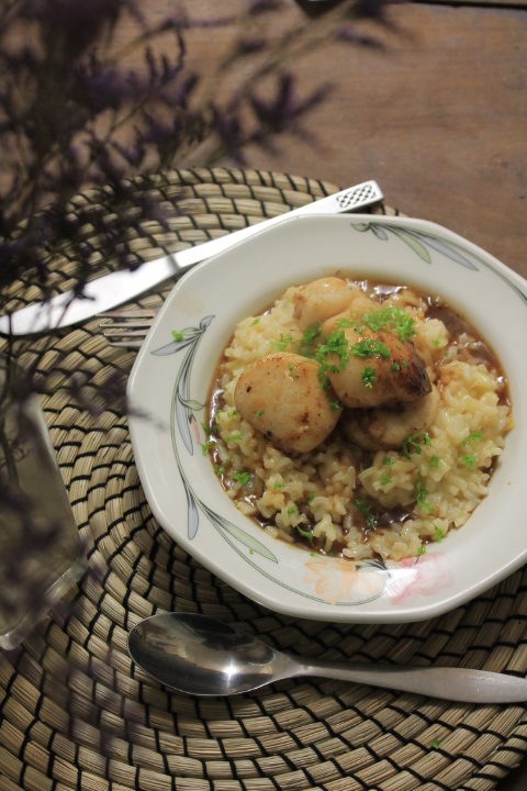 scallop risotto recipe 008