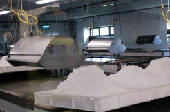 Salt production at the Anglesey based Saltcote